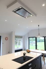 Island Hoods Kitchen Flush Ceiling Mount Range A Great Alternative For Open Space