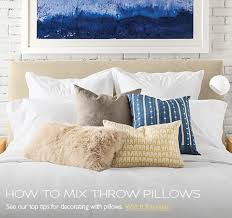 how to place throw pillows on a bed modern throw pillows home decor room board in decorative for bed
