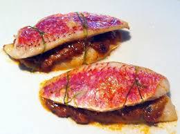 caviar recettes cuisine recette de burgers de rouget au caviar d aubergines
