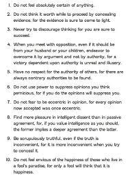 ten resume writing commandments bertrand s 10 commandments of teaching and learning