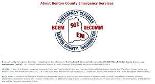 Richland Washington Map by Benton County Emergency Services City Of Richland Wa