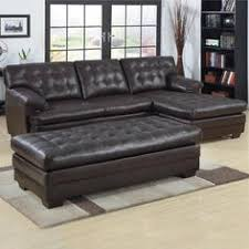 Black Sectional Sofa With Chaise Sectional Sofa Black Sectional Chaise Bonded Leather Sofa 2 Pcs