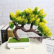 2017 artificial flower plant potted bonsai fake decorative flower