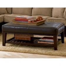 Diy Large Coffee Table by Coffee Table Astonishing Ottoman Coffee Table With Shelf Design