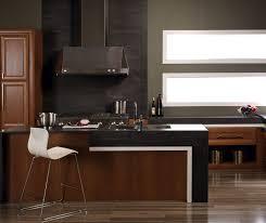 Modern Cherry Kitchen Cabinets Contemporary Kitchen With Cherry Cabinets Kitchen Craft Cabinetry