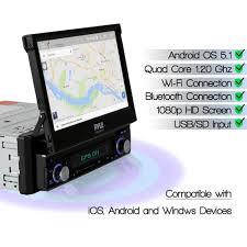 amazon com premium 7in single din android car stereo receiver