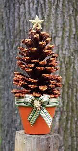 25 unique pine cone tree ideas on pinecone