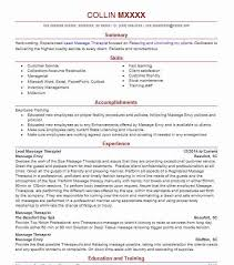 New Massage Therapist Resume Examples by Massage Therapy Resume Little Rock Arkansas Physical For 23