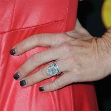 real wedding rings images Real housewives engagement rings photos brides jpg