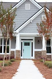home sweet exterior colors blue doors and the also stunning house