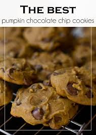 the best pumpkin chocolate chip cookies i heart nap time