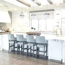 Kitchen Island With Chairs Black And Gold Vintage Bar Stools With Gray Center Island Island