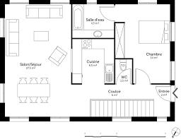 plan de maison 4 chambres avec age plan maison en longueur de plain pied collection avec plan de maison