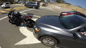 motorcycle getting rear ended 2015 yamaha r3 youtube