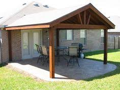 Patio Covers Attached To Existing Roof Google Search Outdoor - Backyard patio cover designs