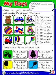 27 best toys images on pinterest teaching english worksheets