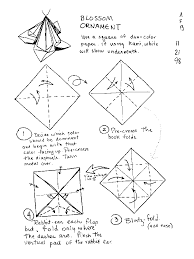 origami ornament alfaomega info