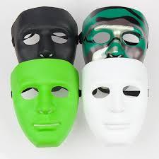 plain mask mask white mask jabbawockeez mask hiphop