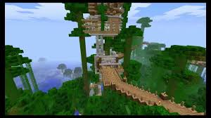 best tree houses awesome minecraft treehouse youtube
