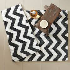 chevron bathroom ideas ideas charming black and white bathroom rugs black and white