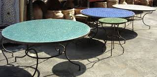 Mosaic Patio Furniture by Moroccan Outdoor Furniture Moroccan Tiles Los Angeles