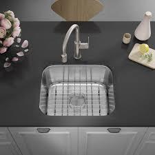 metal kitchen sink and cabinet combo allora usa ksn 2318 combo 23 x 18 x 9 undermount