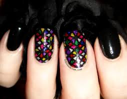 stained glass nail art the adorned claw