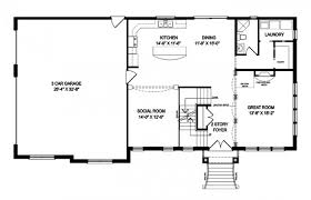 open house plan appealing open floor house plans contemporary best ground