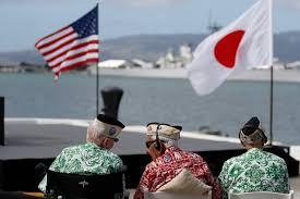 Japanese Navy Flag Pearl Harbor Hi Japan U0027s Abe Offers U0027everlasting Condolences U0027 At