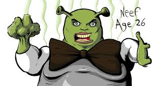 how to draw really good shrek by neef on deviantart