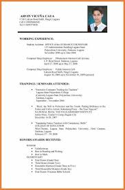 application resume format resume format application sop