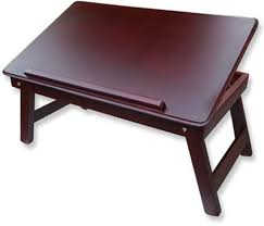 Cherry Laptop Desk by Table Mate Ii Solid Wood Portable Laptop Table Price In India