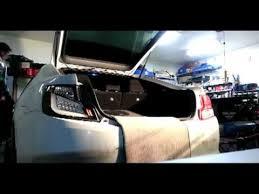 spec d tail lights spec d led tail light install on 2012 scion tc youtube