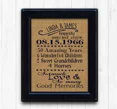 50 year anniversary gift 50th anniversry gift 50th anniversary anniversary gift for