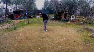 daily practice backyard golf youtube