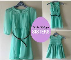 a fancy must easter style for sisters mint green dresses