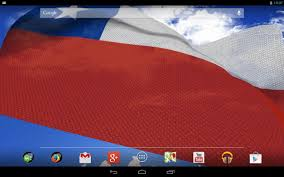 Chile National Flag 3d Chile Flag Android Apps On Google Play