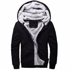 buy actionclub winter thicken hoodie men zipper hooded coat brand