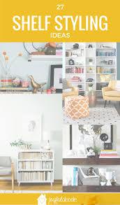 how to style a book shelf 27 ideas joyful abode