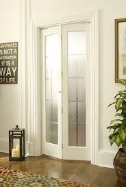 Glass Insert Doors Interior Interior Bifold Doors With Glass Inserts Home Interior Design