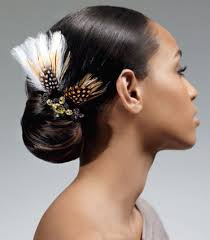 twisted bun hairstyle on african american african american prom hairstyles