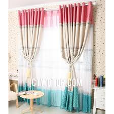 best curtains clearance best blackout beige pink and teal polka dot curtains