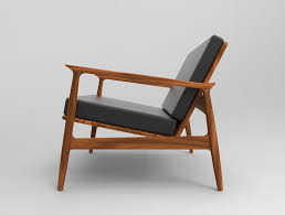 Mid Century Modern Armchairs Mid Century Modern Chair Step Iges Solid Edge 3d Cad Model