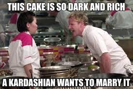 Cake Meme - a cake a kardashian could like kill the hydra