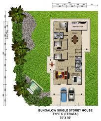 single storey bungalow floor plan 100 single storey semi detached house floor plan astounding