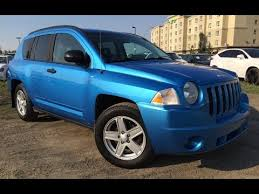 2008 jeep compass limited reviews pre owned blue 2008 jeep compass 4wd sport walk around review