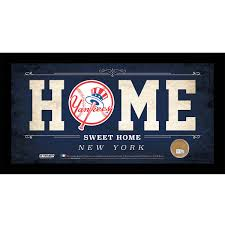 100 new york yankees home decor new york yankees baseball new york yankees home decor mlb new york yankees home sweet home sign with game used