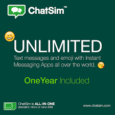 chatsim u2013 international sim card for chat apps