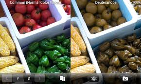 Deuteranopia Color Blindness Chromatic Vision Simulator Android Apps On Google Play