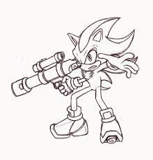 shadow the hedgehog coloring page 2544 600 698 coloring books